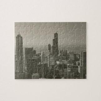 Chicago Skyline, John Hancock Center Skydeck 2 Jigsaw Puzzle