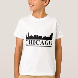 Chicago Skyline Kids T-shirt