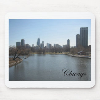 Chicago Skyline Mouse Mat