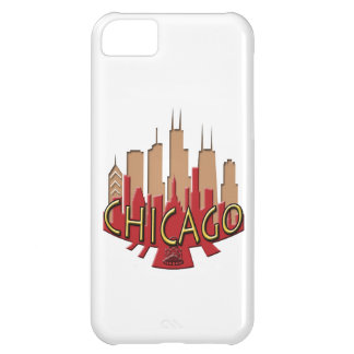 Chicago Skyline newwave hot Case For iPhone 5C