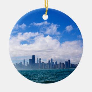 Chicago skyline ornament