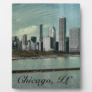 Chicago Skyline Photo Plaques