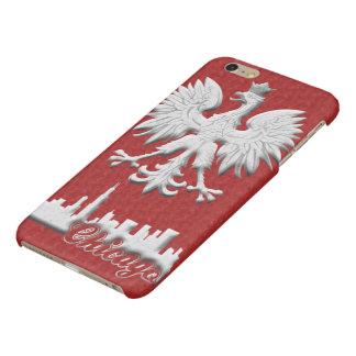 Chicago Skyline Polish Eagle iPhone 6 Plus Case