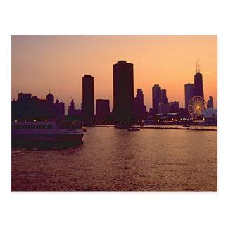 Chicago Skyline Post Cards