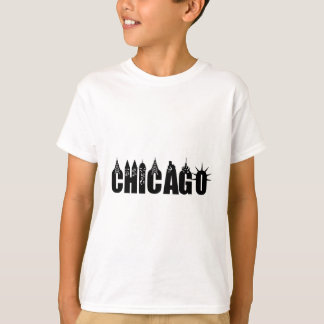 Chicago Skyline Skyscraper City Pride T-Shirt