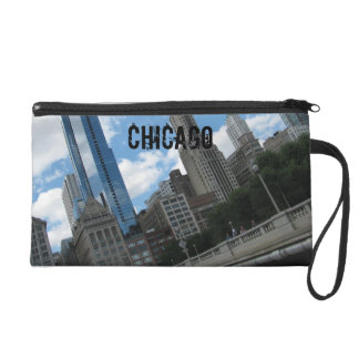 Chicago Skyline Wristlet Purses