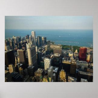 Chicago skyscrapers print