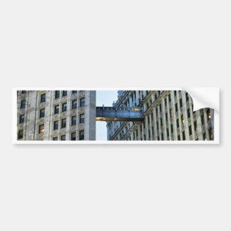 Chicago Skywalk Bumper Sticker