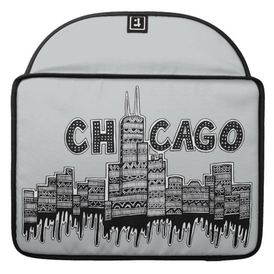 Chicago Sleeves For MacBook Pro