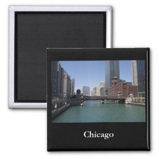 Chicago Square Magnet