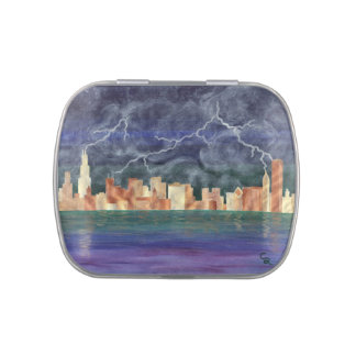 Chicago Storm Candy Tin