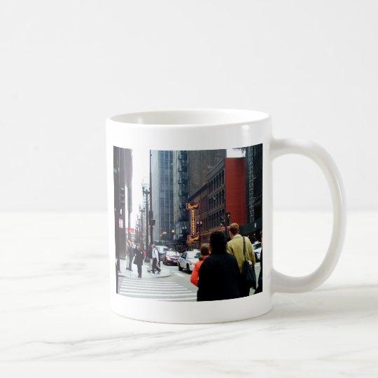 Chicago Street Scene Dearborn and Adams Sts Coffee Mug