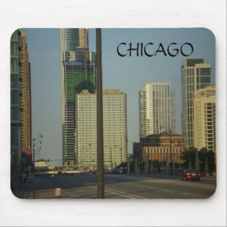 CHICAGO, Street Scene Mouse Mat