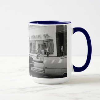 Chicago Streets 1967 Altman Camera Company  Cars Mug