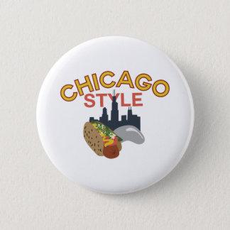 Chicago Style 6 Cm Round Badge