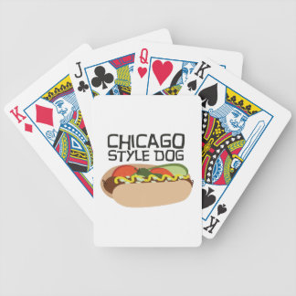 Chicago Style Dog Card Deck