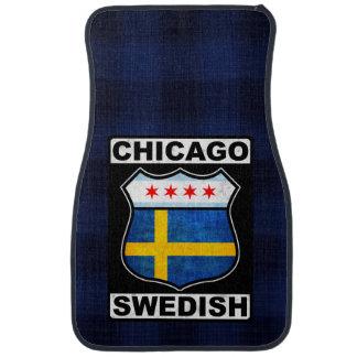 Chicago Swedish American Floor Mat