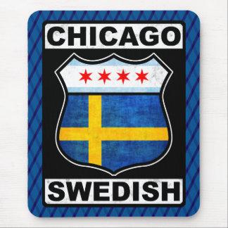 Chicago Swedish American Mousemat