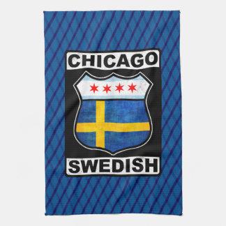 Chicago Swedish American Tea Towels