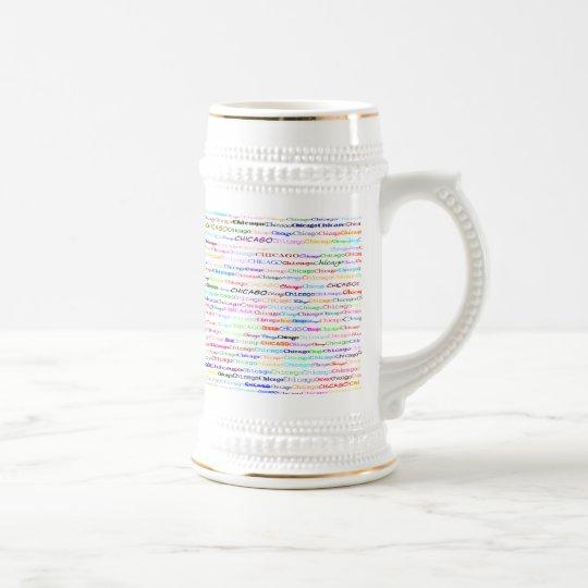 Chicago Text Design II Mug II