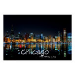 CHICAGO - THE WINDY CITY POSTERS