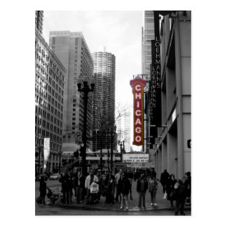 Chicago Theater Postcard