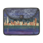 Chicago Thunderstorm Sleeves For MacBook Pro