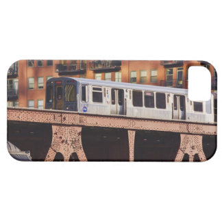 Chicago Train at Riverbend iPhone 5 Covers