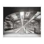 Chicago Train Station, 1920 Gallery Wrap Canvas