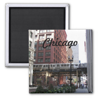 Chicago Travel Photo Magnet