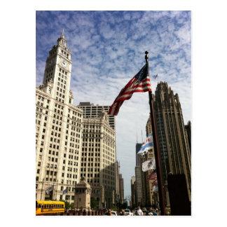 Chicago, USA Postcard