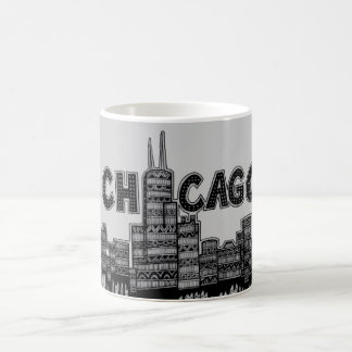 Chicago v2 coffee mug