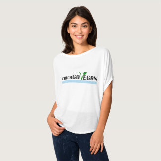 ChicaGO VEGAN message T for her T-Shirt