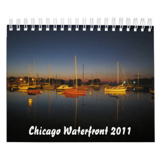 Chicago Waterfront 2011 Wall Calendars