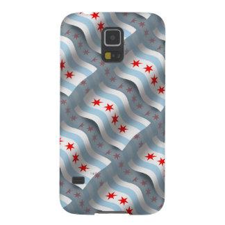 Chicago Waving Flag Galaxy S5 Case