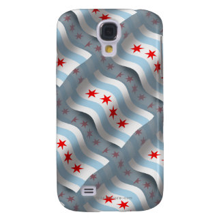 Chicago Waving Flag Galaxy S4 Cover
