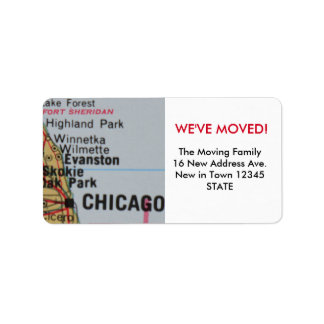Chicago We've Moved label