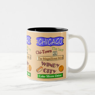 Chicago Windy City -Souvenir Mug