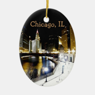 Chicago Winter Ornament