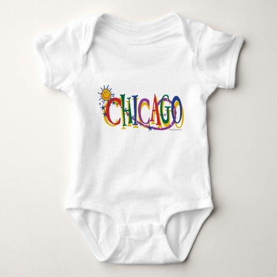 Chicago-With-SUn---KIDS Baby Bodysuit