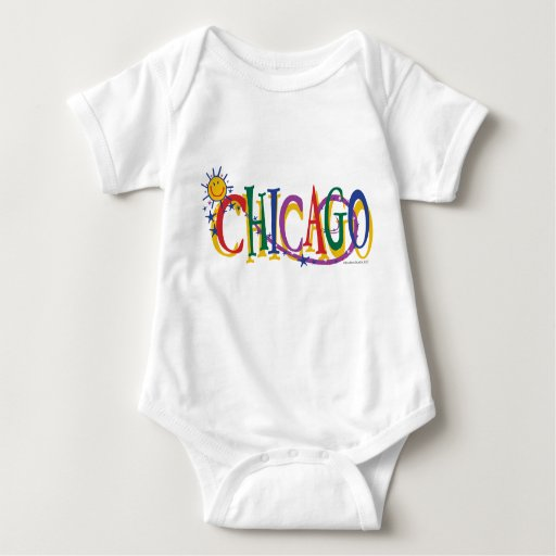 Chicago-With-SUn---KIDS Tshirt