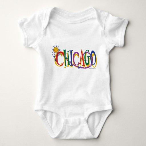 Chicago-With-SUn---KIDS Tshirt