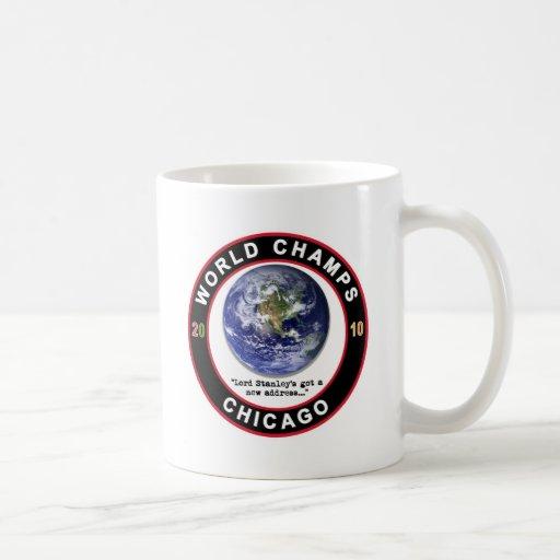 CHICAGO WORLD CHAMPS COFFEE MUGS