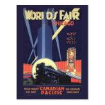 Chicago World's Fair 1933 Vintage Postcard
