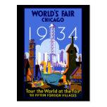 Chicago Worlds Fair 1934 Postcards