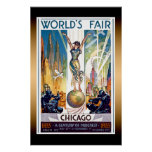 Chicago World's Fair Extra Large Poster