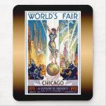 Chicago World's Fair Mouse Mat