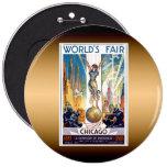 Chicago World's Fair Pin