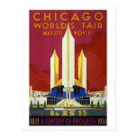 Chicago World's Fair Post Card
