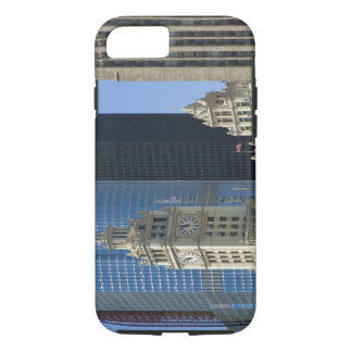 Chicago, Wrigley Building with Trump Hotel & iPhone 8/7 Case
